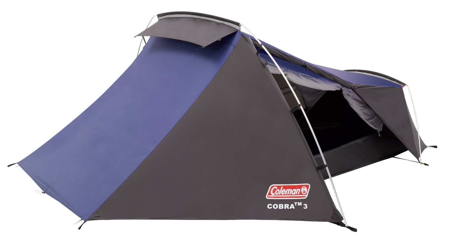 Coleman Cobra 3 Tent For Using Your Own Pitch At Camping Holiday Parks
