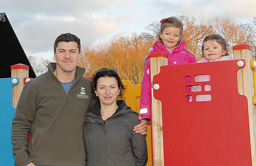 The Borlase Family, owners of Swiss Farm