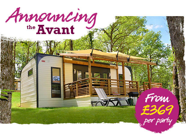 The Avant Is Eurocamp's New Holiday Home