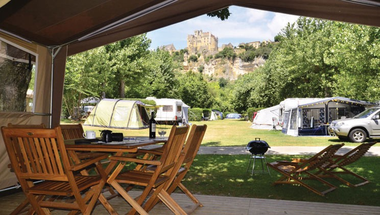 Camping In The Dordogne