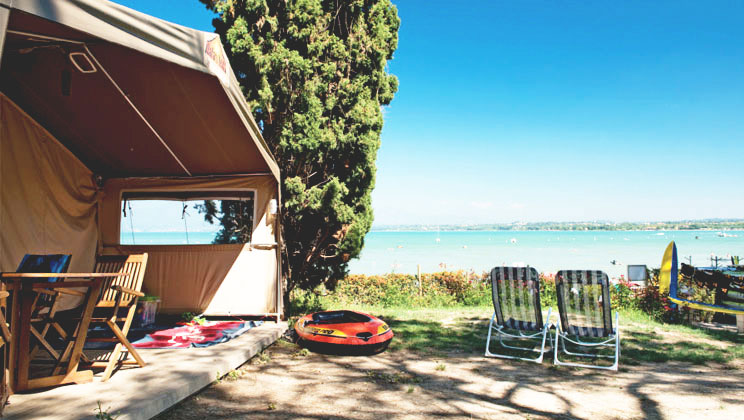 Camping in the Italian Lakes - Bella Italia