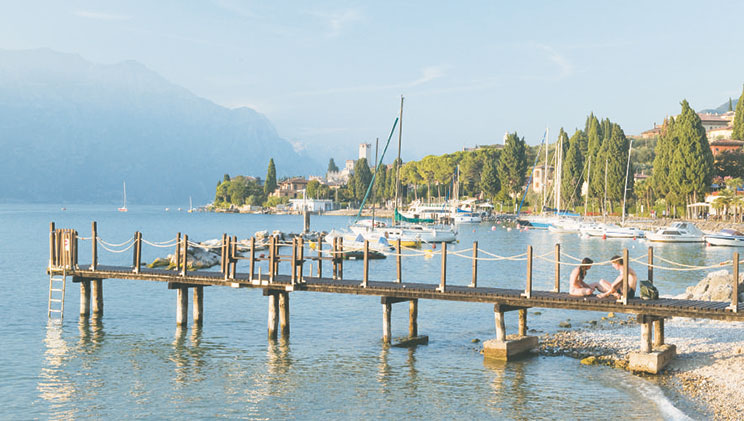 Camping in the Italian Lakes Region