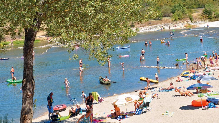 Camping In The Ardeche
