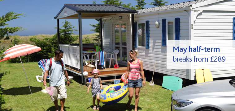 Brittany Ferries May Half-Term Chalet Camping Breaks Offer