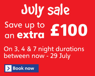 Haven Holidays July Sale