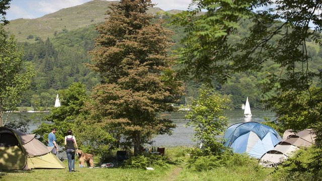 Camping In The Lake District