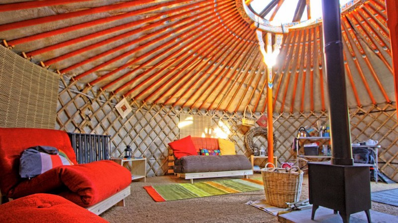 Newcastle Yurts